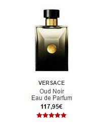 parfum versace oud noir eau de parfum sephora