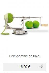 pele pomme de luxe idee cadeau homme