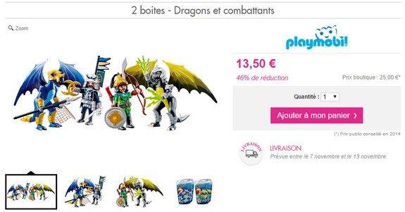 playmobil dragons et combattants asiatiques