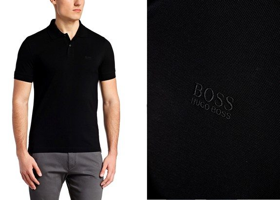 polo manches courtes hugo boss green c-firenze