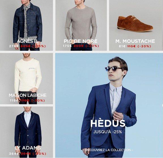 promotion créateurs mode homme