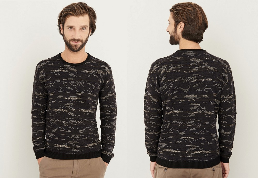 pull-col-rond-devred-motif-camouflage