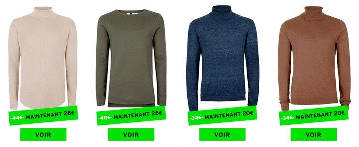 pull maille topman