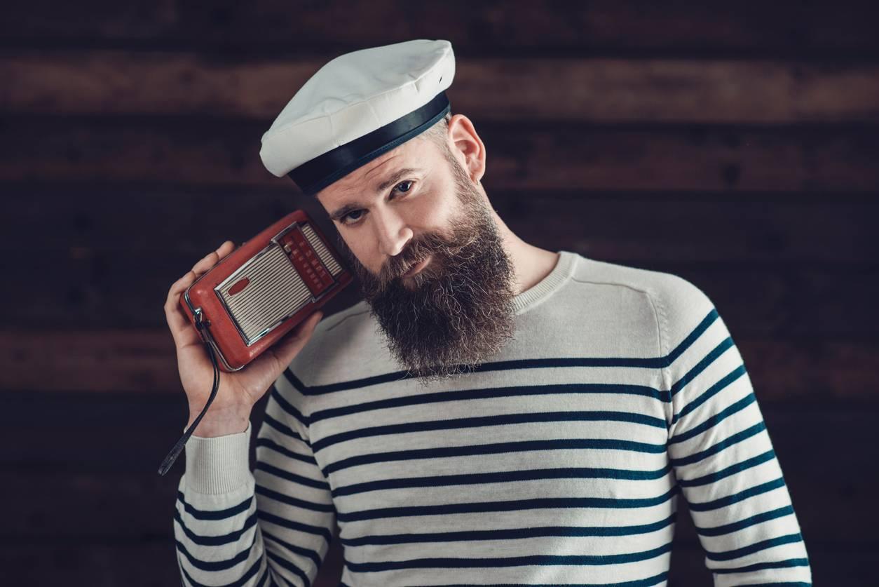 pull mariniere homme