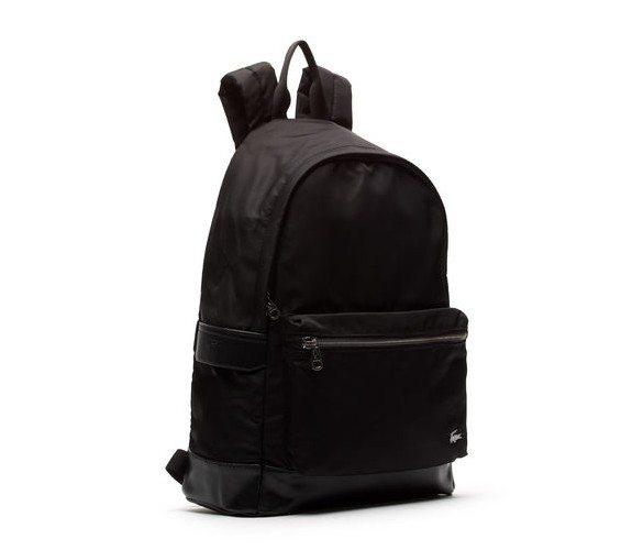 sac a dos noir lacoste