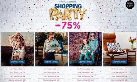 C'est la Shopping Party chez BrandAlley !