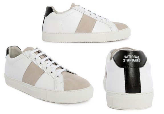 sneakers national standard menlook collaboration anniversaire 5 ans