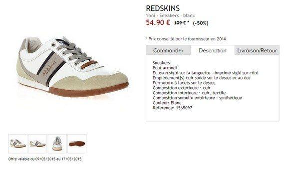 sneakers redskins