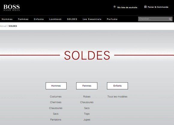 Soldes HUGO BOSS : Notre Sélection