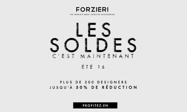 Soldes Forzieri Eté 2016