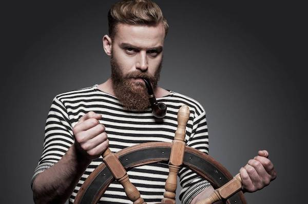tendances mode homme marin mariniere roux pipe