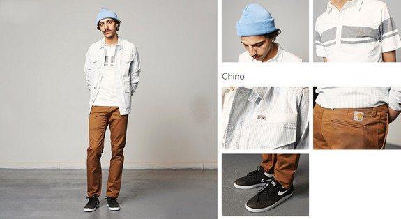 tenue homme streetwear chino bonnet