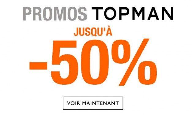 Nouvelles Promos chez Topman !!