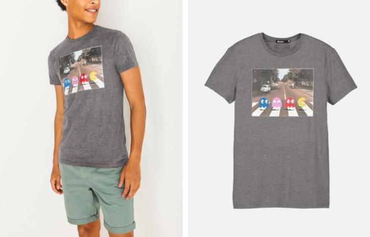 T-shirt Pacman Bizzbee