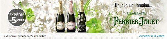 vente champagne perrier jouet grand brut blason rose coffret