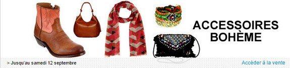vente privee accessoires de mode boheme