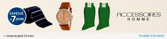 vente privee accessoires mode homme