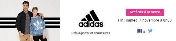 vente privee adidas vetements chaussures homme femme enfant