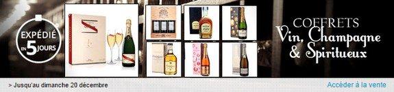 vente privee alcools en coffrets champagne vin spiritueux