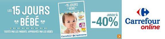 vente privee bebes carrefour les 15 jours