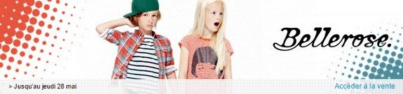 vente privee bellerose enfants