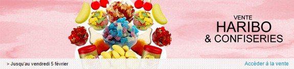 vente privee bonbons haribo confiseries chocolats