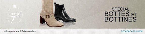 vente privee bottes bottines femme