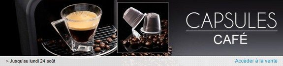 vente privee capsules cafe nespresso compatibles
