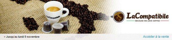 vente privee capsules cafe the tisane compatibles nespresso