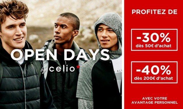 Les Open Days Celio