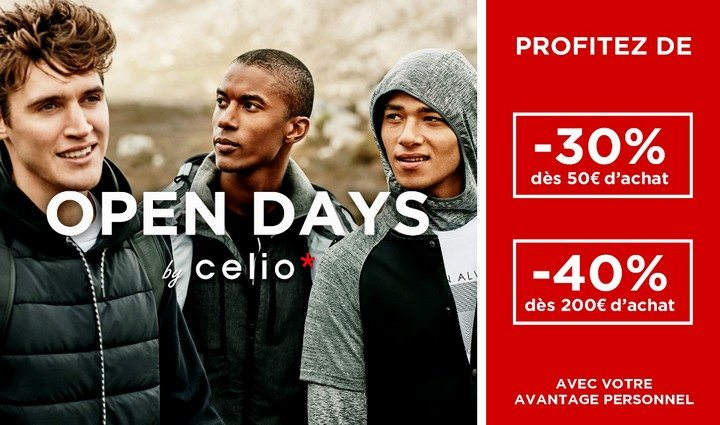 Les Open Days Celio