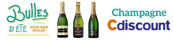 vente privee champagne cdiscount