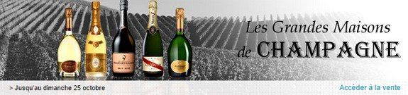 vente privee champagne les grandes maisons de champagne octobre 2015