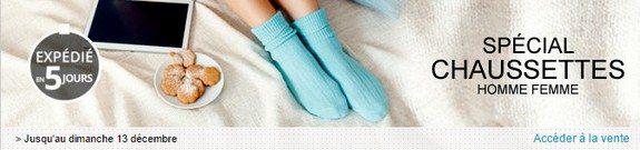 vente privee chaussettes homme et femme
