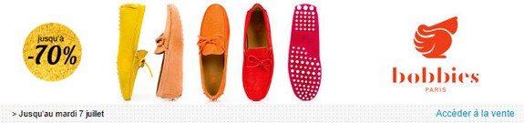 vente privee chaussures bobbies