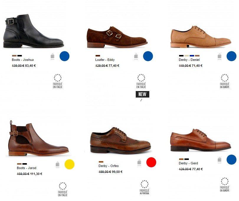 vente privee chaussures homme minelli