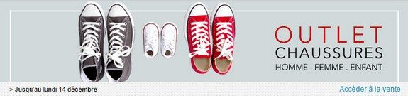 vente privee chaussures outlet homme femme enfant