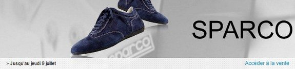 vente privee chaussures sparco