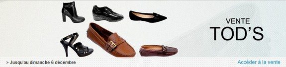vente privee chaussures tods