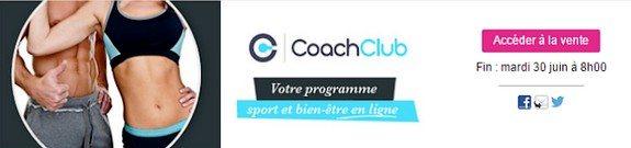 vente privee coach sport