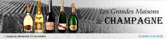 vente privee de bons champagnes