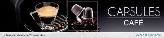 vente privee de capsules de cafe compatibles nespresso