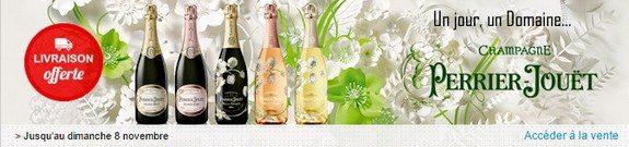 vente privee de champagnes perrier jouet