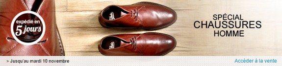 vente privee de chaussures pour hommes