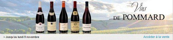 vente privee de vins de pommard rouges