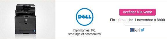 vente privee dell imprimantes disques durs pc portables accessoires high tech