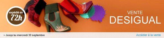 vente privee desigual chaussures femmes