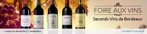 vente privee foire aux vins bordeaux