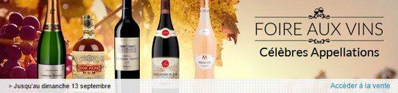 vente privee foire aux vins celebres appellations
