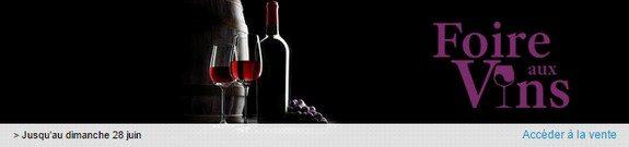 vente privee foire aux vins